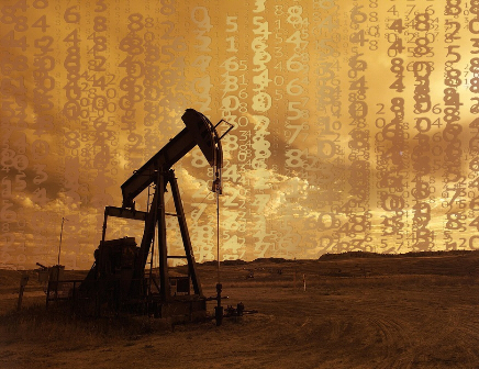 Oil Prices with Pump Jack